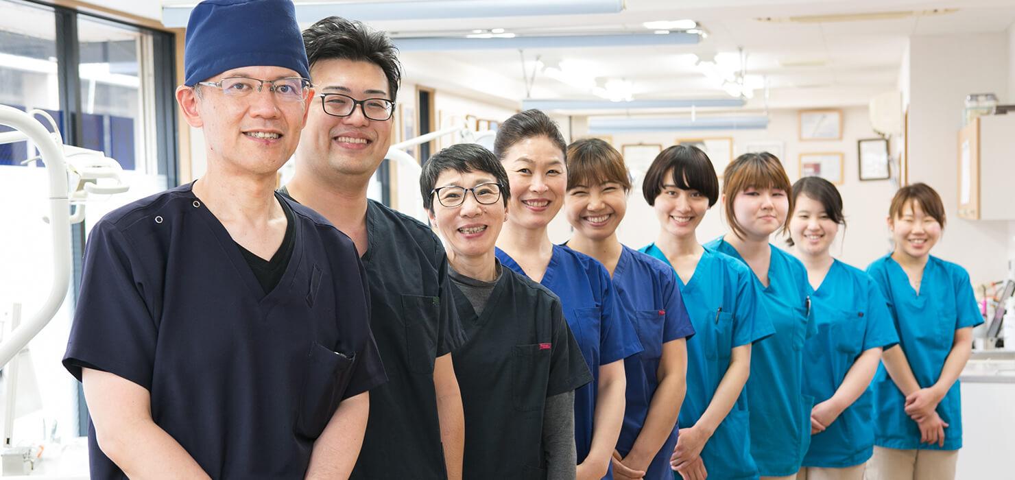 全ては患者様とメンバーの幸せのために!