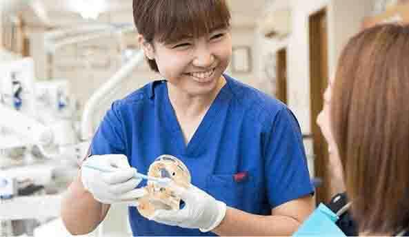 歯を「守る」ことを第一としている歯医者