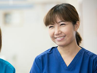 医院の主役級の活躍ができる歯科衛生士